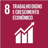 Trabalho Digno e Crescimento Económico - Objetivo 8