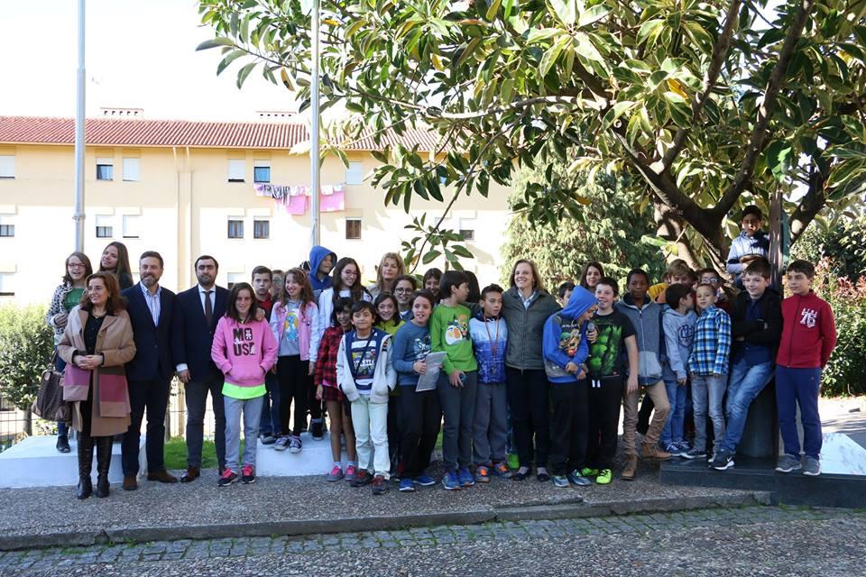 Hastear da Bandeira Verde Eco_Escolas