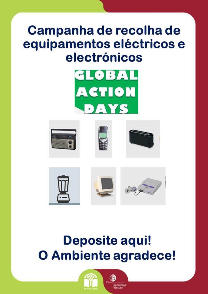 Campanha de recolha de equipamentos elétricos e eletrónicos
