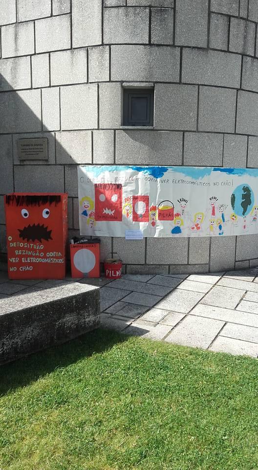 Jardim de Infância de Gouveia realiza uma sensibilização ambiental à comunidade