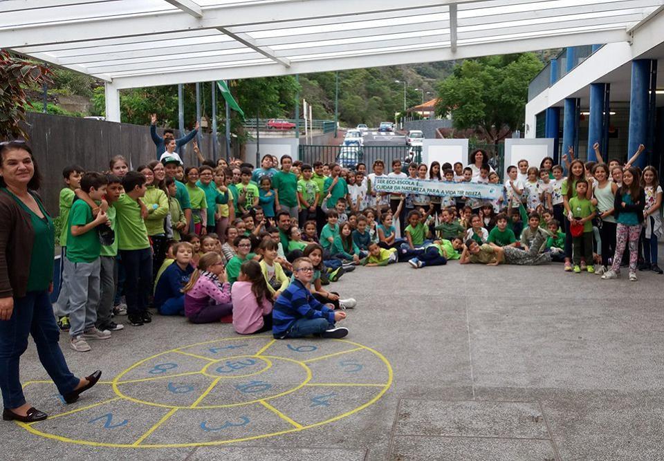EB1/PE de Santa Cruz é Eco-Escola