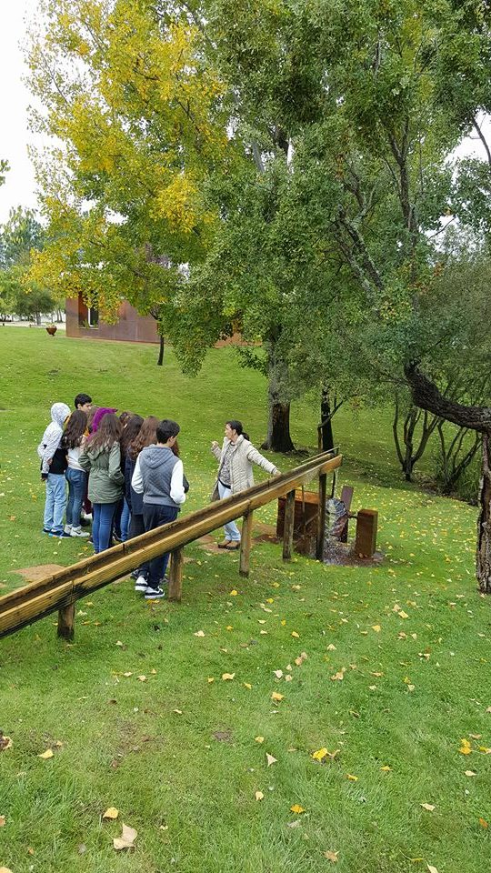 Alunos do 7ºano da E.B. Luísa Todi foram ao Parque Ambiental de Santa Margarida e ao Centro de Ciência Viva de Constância.