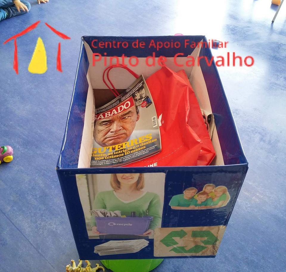 Centro de Apoio Familiar Pinto de Carvalho no GAD
