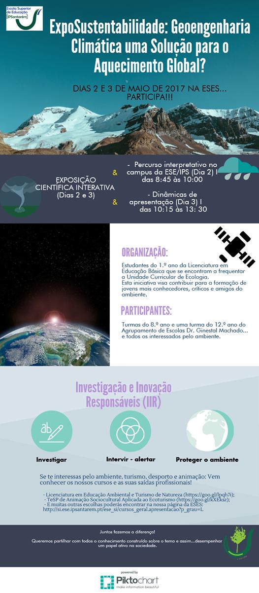 ExpoSustentabilidade: Geoengenharia Climática uma Solução para o Aquecimento Global?