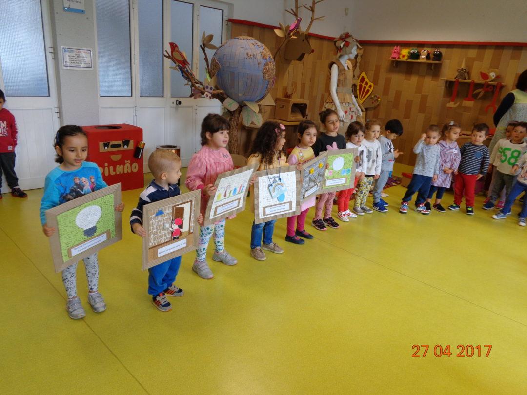 Apresentação do eco-código à comunidade escolar