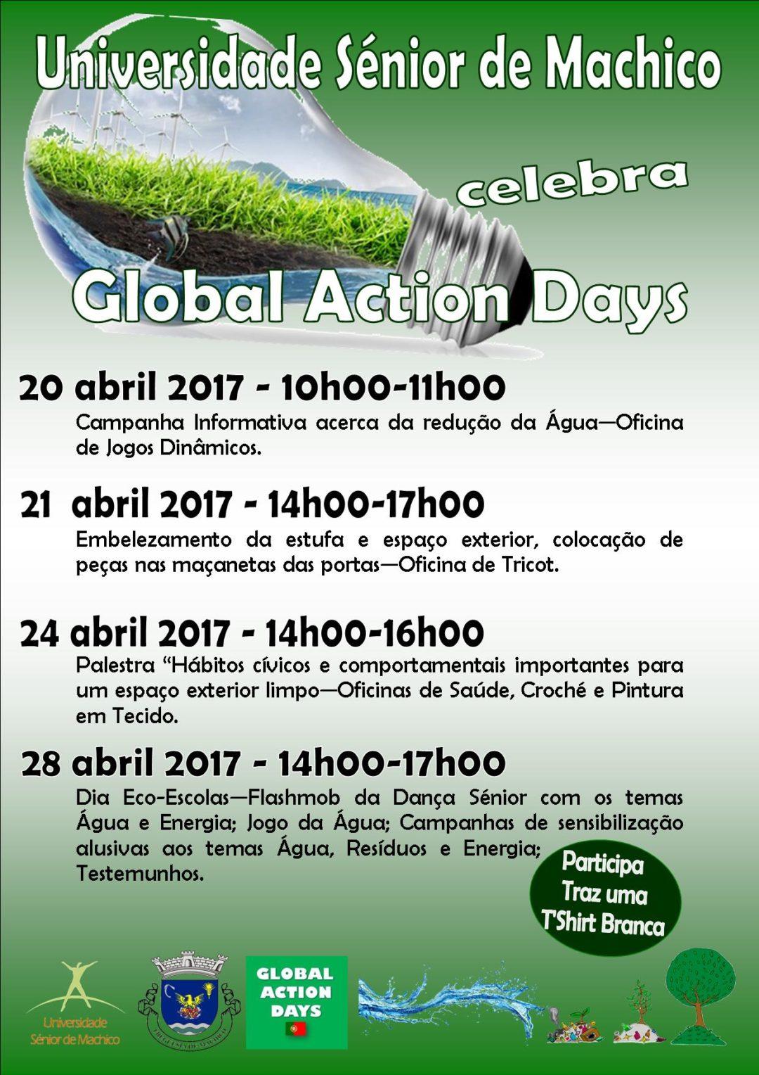 Global Action Days  2017 – Universidade Sénior de Machico