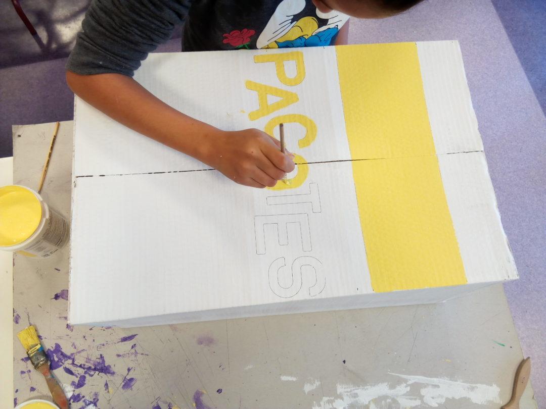 Construção de Ecopontos Amarelos