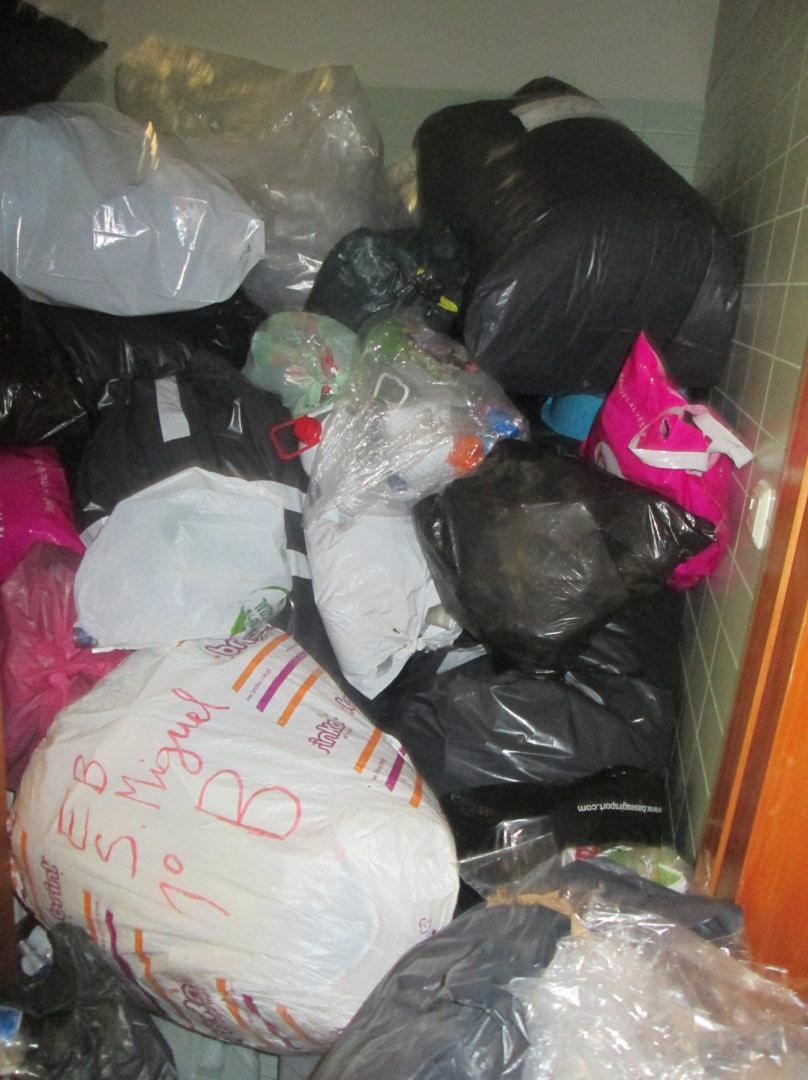Recolha de plásticos em grande estilo!