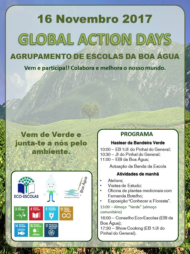 Global Action Days no Agrupamento da Boa Água
