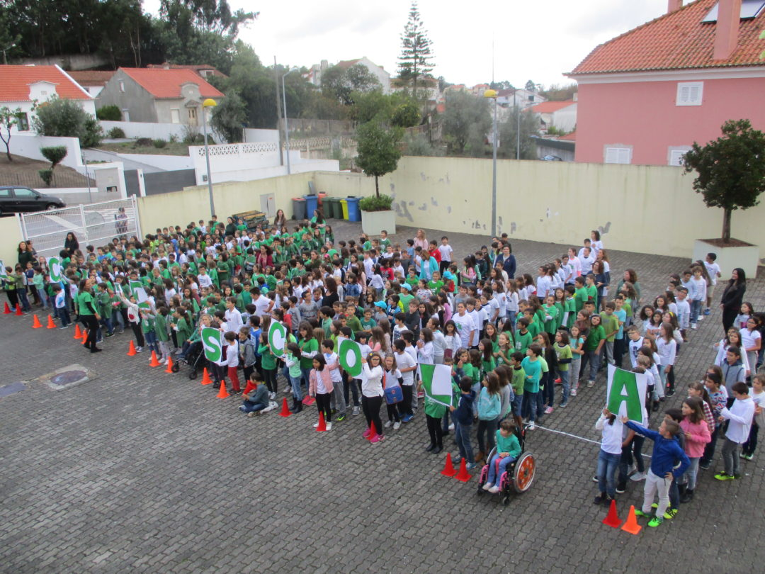Cerimónia do Hastear da Bandeira Eco-Escolas 2017 – EB 1 da Venda do Pinheiro