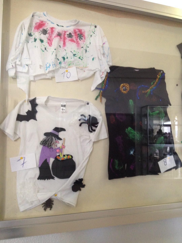 Concurso T-shirt de Halloween