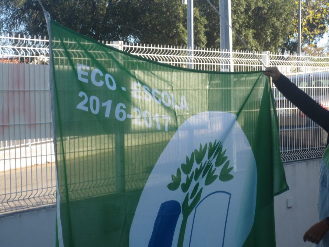 Hastear da 11ª bandeira eco escolas