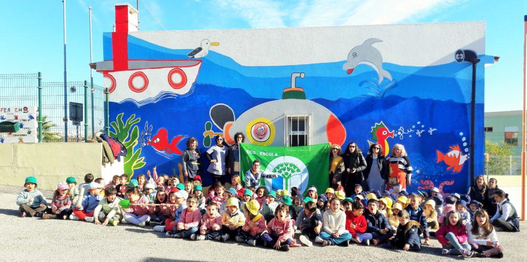 """Jardim de Infância Venda do Pinheiro, """"Vamos cuidar da nossa grande casa – O Planeta Terra"""""""