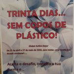 """""""Trinta dias sem copos plásticos"""" – Escola Básica e Secundária de Fornos de Algodres"""
