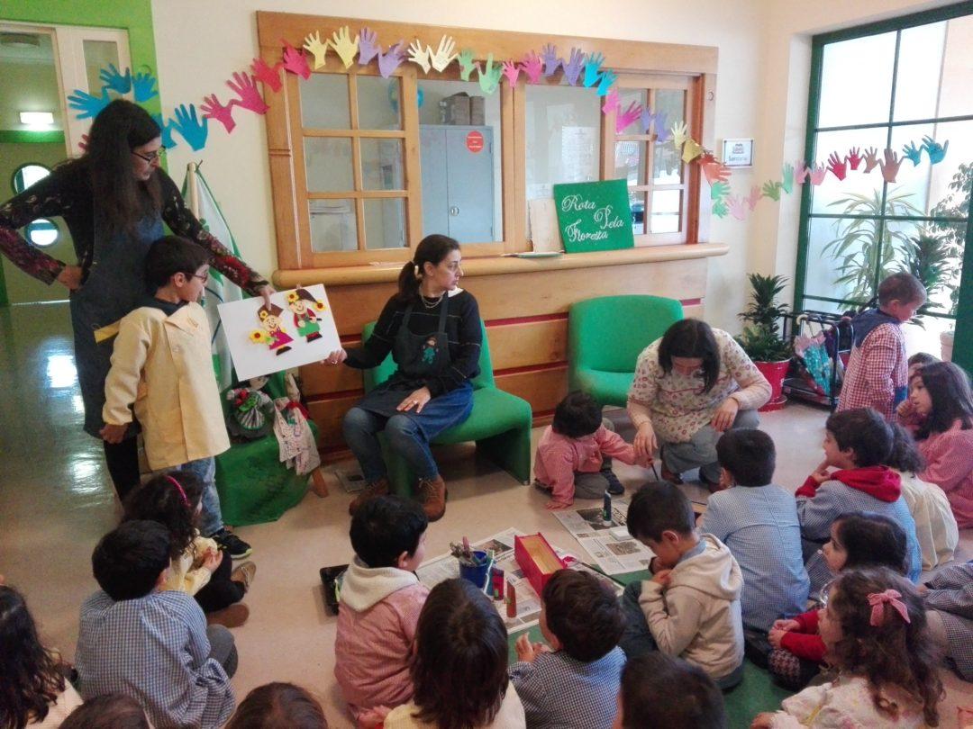 """Jardim de Infância do Milharado, """"A concretizar a Rota pela Floresta"""""""