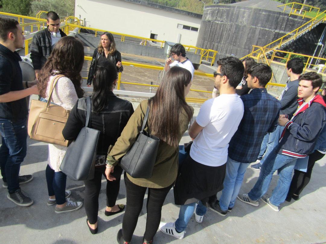 Visita de estudo à ETAR de Lamego