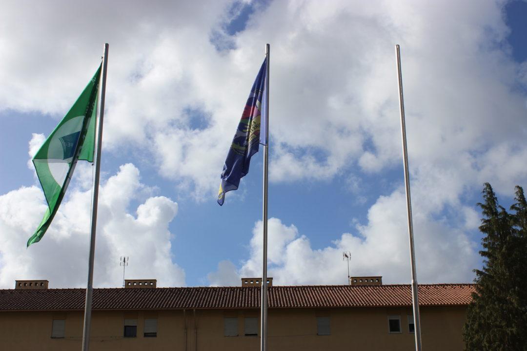 Dia Internacional das Eco_Escolas: Hastear da Bandeira Verde nas 3 escolas do AESL