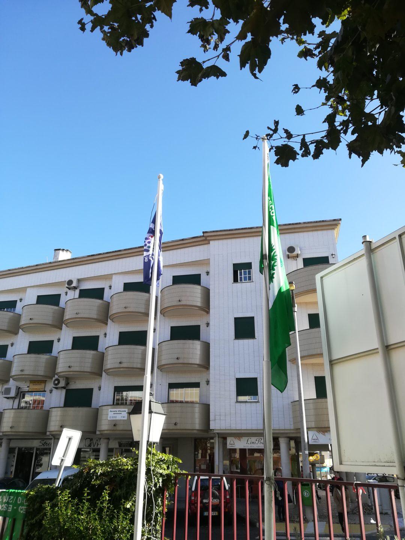 Hastear a Bandeira Eco-Escolas no Externato Cooperativo da Benedita