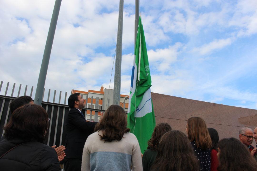 Cerimónia do Hastear da Bandeira Verde 2017/2018 da Escola Secundária João da Silva Correia (São João da Madeira)