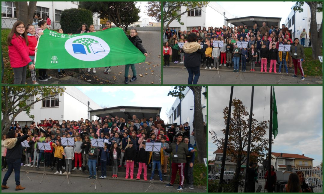 Cerimónia do Hastear da Bandeira Verde – Global Action Days