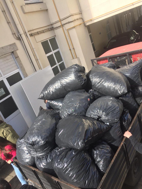 Campanha de Recolha de Resíduos no INA