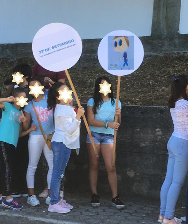 FAZ O TEU CAMINHO – Dia Europeu do Desporto na Escola – Global Action Days  Agrupamento de Escolas de Carvalhos – Escola Básica Padre António Luís Moreira