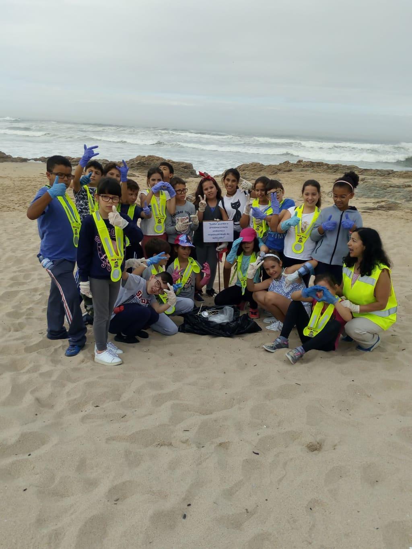 Limpeza da Praia do cabo do Mundo