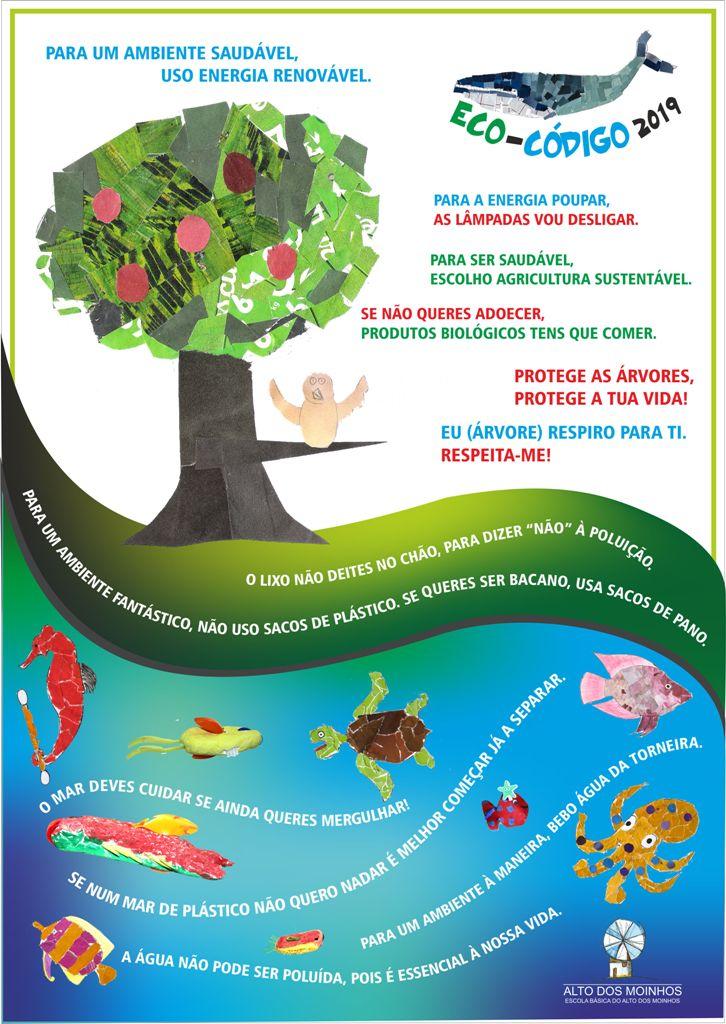 – GLOBAL ACTION DAYS – Divulgação do Eco-Código –  #fazpeloclima #ecoescolasfazpeloclima #ecoschools #globalactiondays