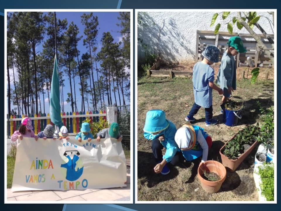 Fazemos a diferença  #globalactiomdays  #fazpeloclima  #ecoschools