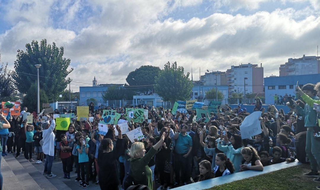 JUNTOS PELO CLIMA – Agrupamento de Escolas do Cadaval    #ecoescolasfazpeloclima #ecoschools #globalactiondays