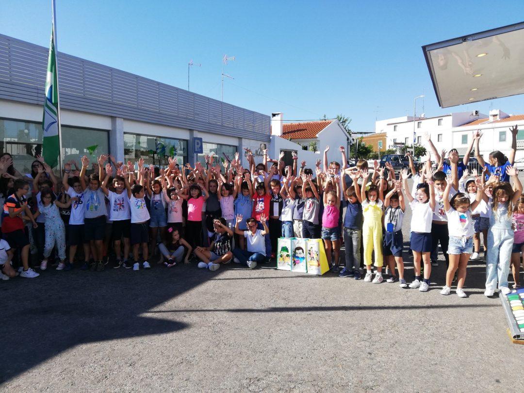 Global Action Days- Centro Educativo Alice Nabeiro recebe Academia Ponto Verde #fazpeloclima #ecoescolasfazpeloclima #ecoschools #globalactiondays