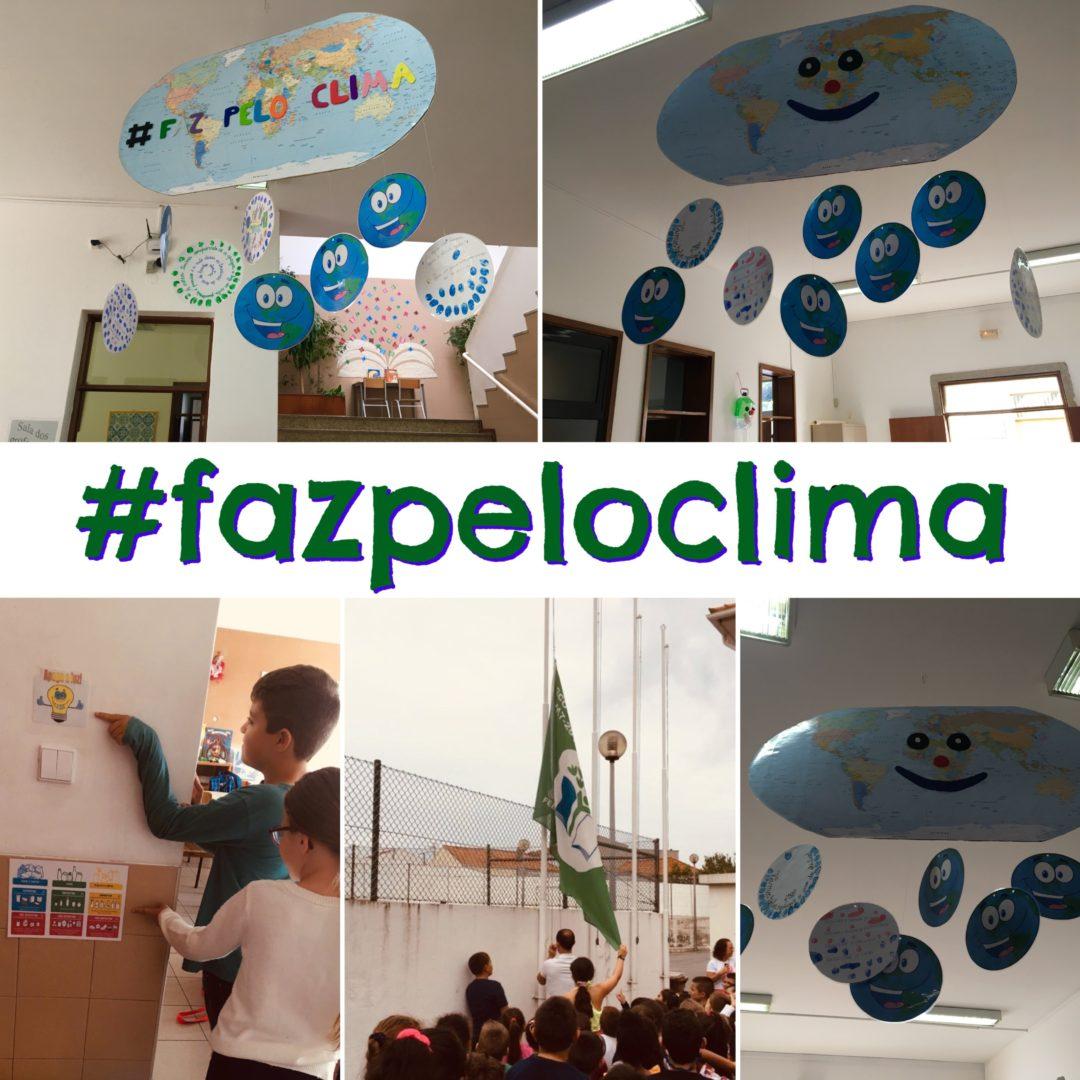 #fazpeloclima na Escola Básica Nº 2 de Perafita