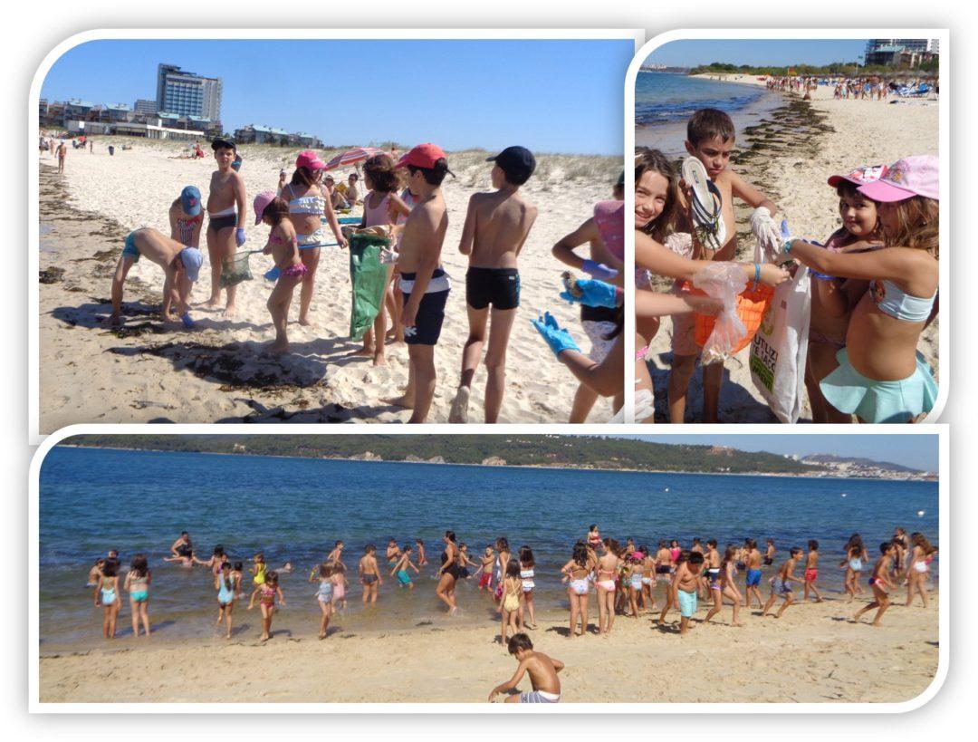 Limpeza de Praia