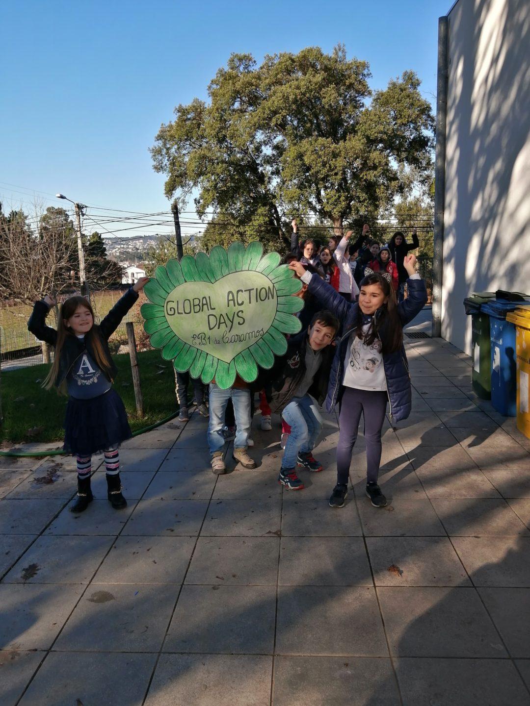 Escola Básica de Caramos faz pelo Clima!