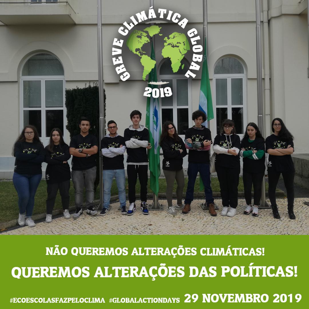Oficina – Escola Profissional do INA – Greve Climática Global – 29 de Novembro