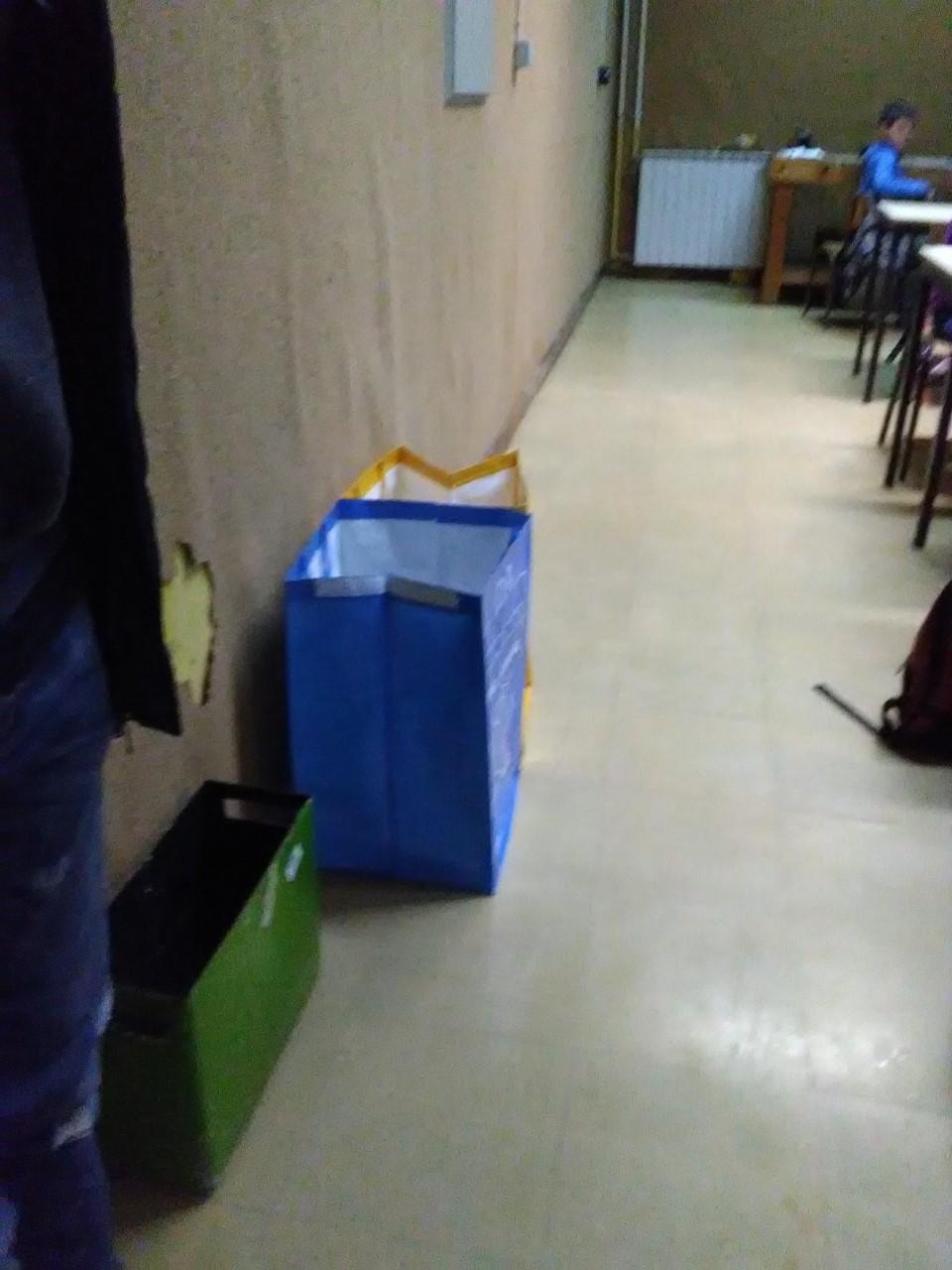 Separação Seletiva na Escola Básica de Gandarela – Colocação de ecobags
