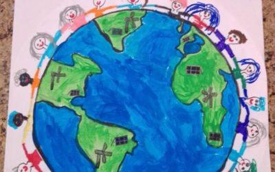 Se utilizarmos energias renováveis, teremos um planeta mais feliz.