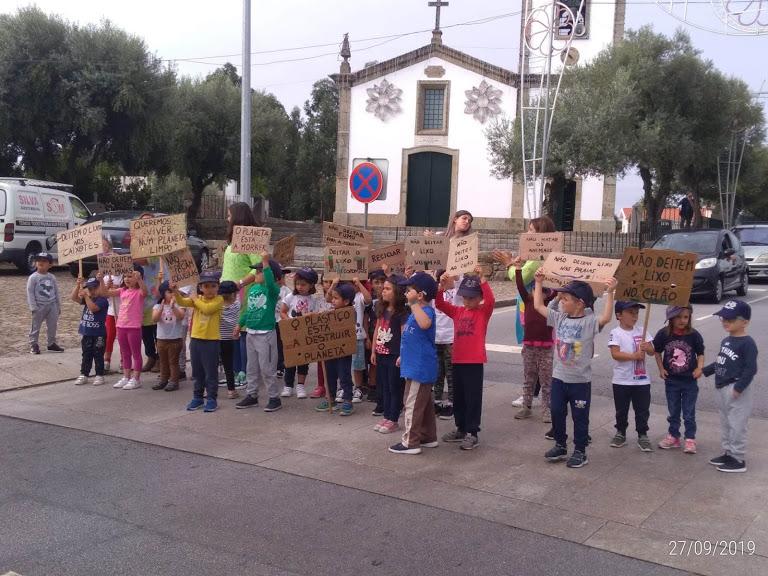 Manifestação pelo Clima