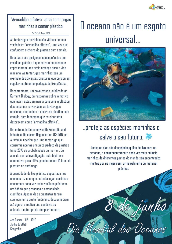 COMEMORAÇÃO DO DIA MUNDIAL DOS OCEANOS – 8 de junho