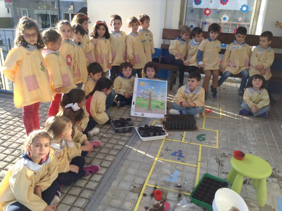 Dia Nacional da Floresta Autóctone no Jardim de Infância da Associação de Beneficência Popular de Gouveia