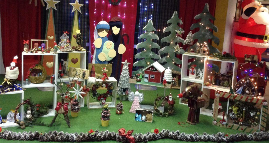 """""""Decorações de Natal Recicladas""""! Elaboradas pelas crianças/ Encarregados de Educação – ABPG"""