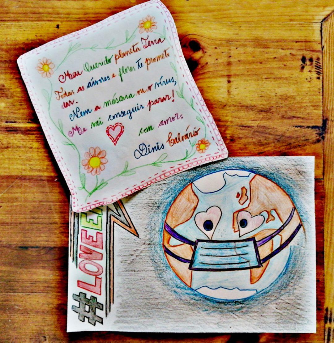 """No Dia dos Namorados, """"Declara-te ao Planeta"""" #LoveEarth  EB /JI A lã e a Neve"""