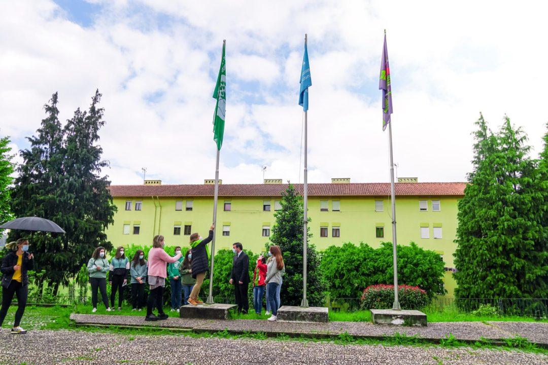 Dia Mundial da Terra: Hastear da Bandeira Verde no AESL